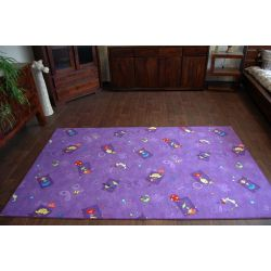 Wykładzina dywanowa HAPPY fiolet