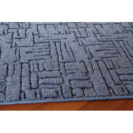 Wykładzina dywanowa KASBAR 504 niebieski