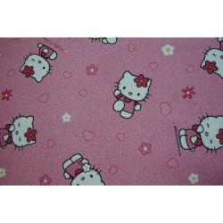 Wykładzina dywanowa HELLO KITTY 60 róż
