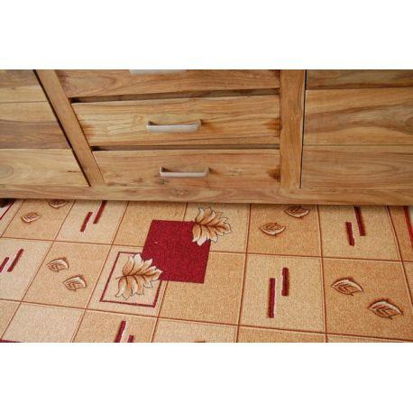 Wykładzina dywanowa POLKA bordo