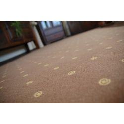 Wykładzina dywanowa CHIC 144 brąz