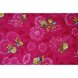 Wykładzina dywanowa PSZCZÓŁKA MAJA róż