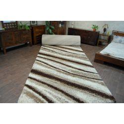 Wykładzina dywanowa SHAGGY LONG 5cm - 2714 ivory jasny beż