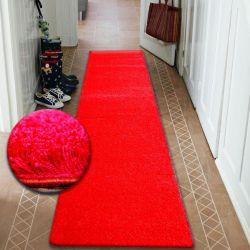 CHODNIK SHAGGY 5cm czerwony