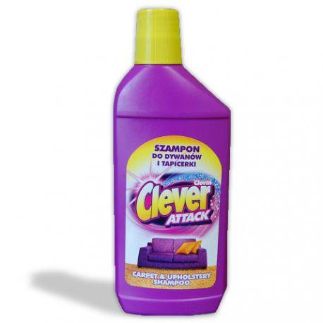 Szampon do dywanów i tapicerki CLEVER 500ml
