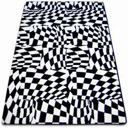 Dywan SKETCH - F756 biało/czarny