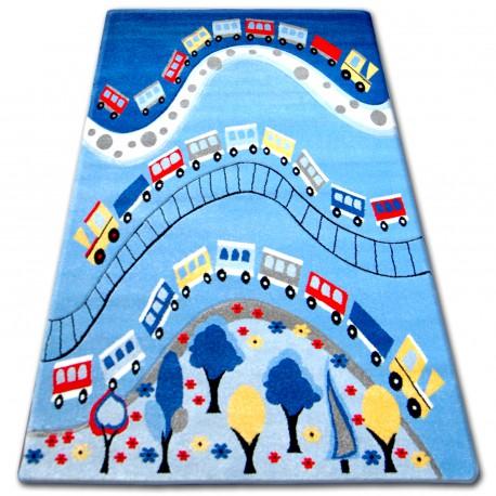 Dywan dziecięcy HAPPY C168 niebieski
