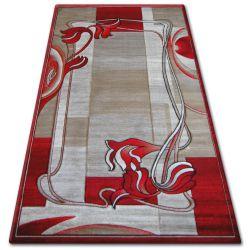 Dywan heat-set KIWI 3763 czerwień