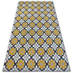 Dywan LISBOA 27206/275 Kwiaty Żółty