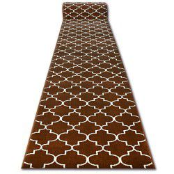 CHODNIK BCF BASE 3770 brąz koniczyna marokańska trellis