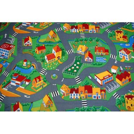 Wykładzina dywanowa LITTLE GOLIATH - welur