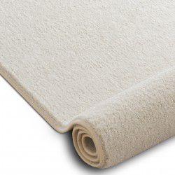 Wykładzina dywanowa VELVET MICRO krem 031 gładki, jednolity, jednokolorowy