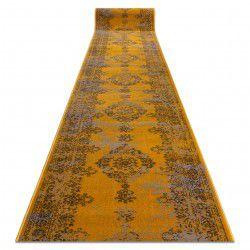 Chodnik Vintage 22206025 Rozeta żółty / szary