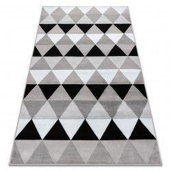 Dywan BCF ANNA Triangles 2965 Trójkąty szary
