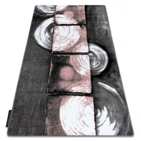 Dywan INTERO PHONO 3D Kwadraty różowy