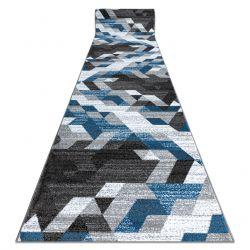 Chodnik INTERO TECHNIC 3D Romby Trójkąty niebieski