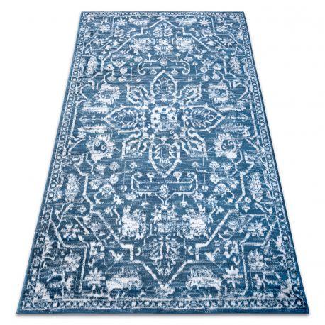 Dywan RETRO HE184 niebieski / krem Vintage