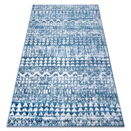 Dywan RETRO HE187 niebieski / krem Vintage