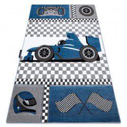 Dywan PETIT RACE WYŚCIGÓWKA FORMUŁA 1 AUTO niebieski