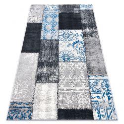Dywan Vintage 22218053 szary / niebieski