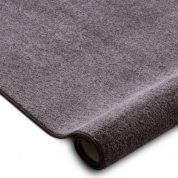 Wykładzina dywanowa SANTA FE brąz 42 gładki, jednolity, jednokolorowy
