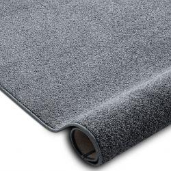 Wykładzina dywanowa SANTA FE szary 97 gładki, jednolity, jednokolorowy