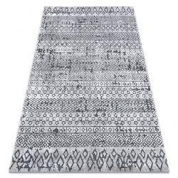 Dywan Strukturalny SIERRA G6042 Płasko tkany, dwa poziomy runa beż / krem - geometryczny, etniczny