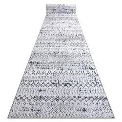 Chodnik Strukturalny SIERRA G6042 Płasko tkany, dwa poziomy runa beż / krem - geometryczny, etniczny