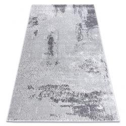 Dywan nowoczesny MEFE 8731 Przecierany vintage - Strukturalny, dwa poziomy runa szary