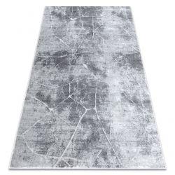 Dywan nowoczesny MEFE 2783 Marmur - Strukturalny, dwa poziomy runa szary