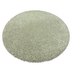 Nowoczesny dywan do prania ILDO 71181044 koło oliwka zielony