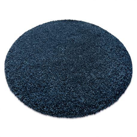 Nowoczesny dywan do prania ILDO 71181090 koło granat