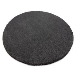 Nowoczesny dywan do prania LATIO 71351100 koło szary