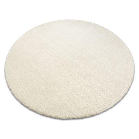 Nowoczesny dywan do prania LATIO 71351056 koło krem