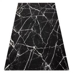 Dywan GNAB 60639733 Marmur nowoczesny szary / biały