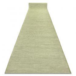 Sznurkowy, płaskotkany Chodnik PATIO Sizal jednolity, wzór 2778 zielony