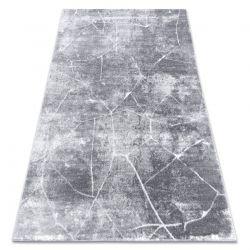 Dywan nowoczesny MEFE 2783 Marmur - Strukturalny, dwa poziomy runa ciemnoszary