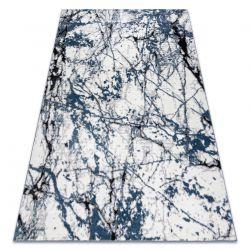Dywan nowoczesny COZY 8871 Marble, Marmur - Strukturalny, dwa poziomy runa niebieski