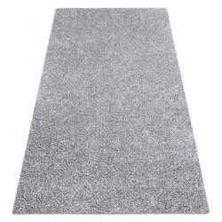 Nowoczesny dywan do prania ILDO 71181060 srebrny