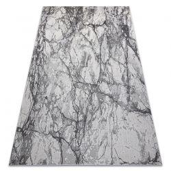 Dywan NOBLE nowoczesny 9962 65 Marmur, kamień - Strukturalny, dwa poziomy runa krem / szary