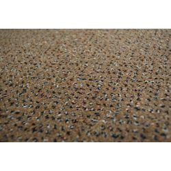 Wykładzina dywanowa WELUROWA TECHNO STAR 830 brąz