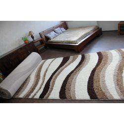 Wykładzina dywanowa SHAGGY LONG 5cm - 2490 ivory beż