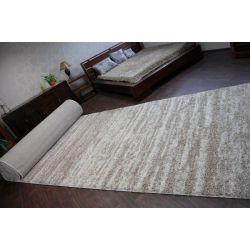 Wykładzina dywanowa SHAGGY LONG 5cm - 3383 ivory beż