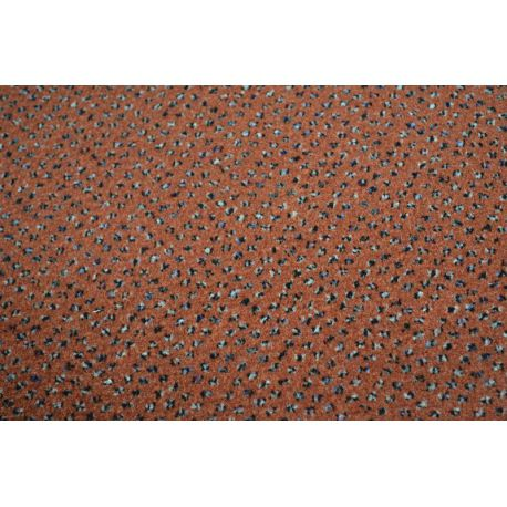 Wykładzina dywanowa WELUROWA TECHNO STAR 140 terakota