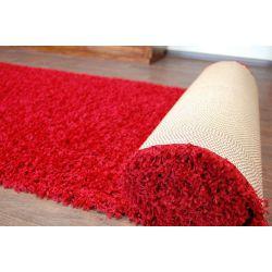 Wykładzina dywanowa SHAGGY 5cm bordo