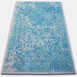 Dywan Vintage 22208/054 turkus / krem rozeta klasyczny