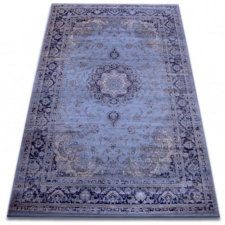 Dywan heat-set Jasmin 8676 niebieski