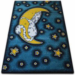 Dywan KIDS Cat niebieski C414