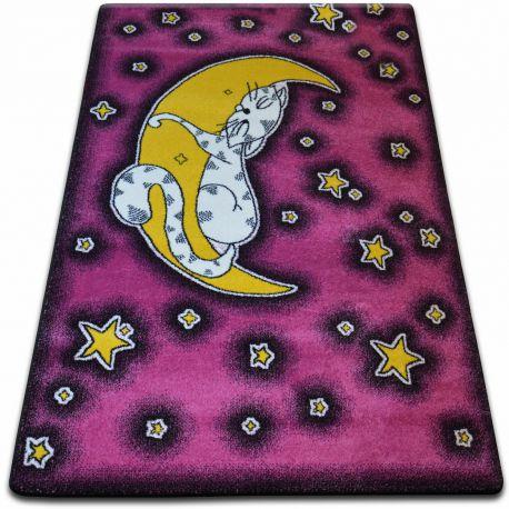 Dywan KIDS Cat różowy C414