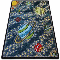 Dywan KIDS Kosmos niebieski C420